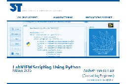 LabVIEW scripting using Python
