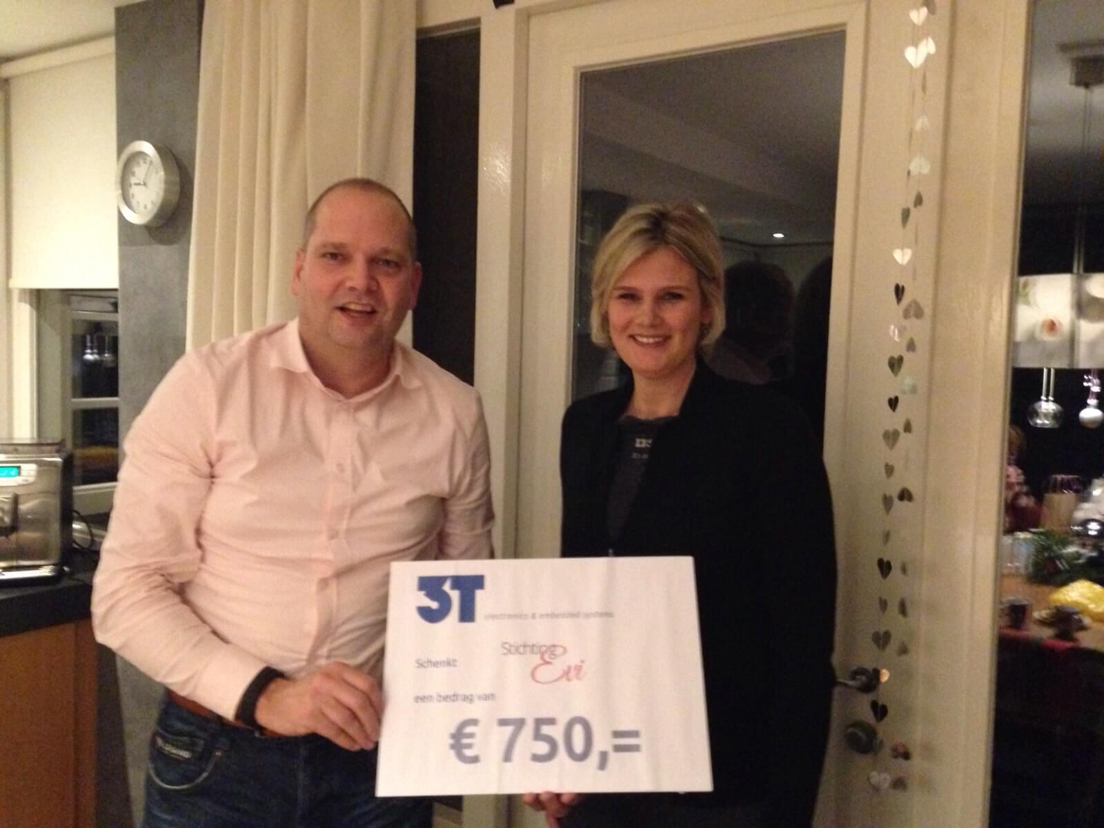Cheque Stichting Evi