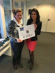 Cheque Prinses Beatrix Spierfonds