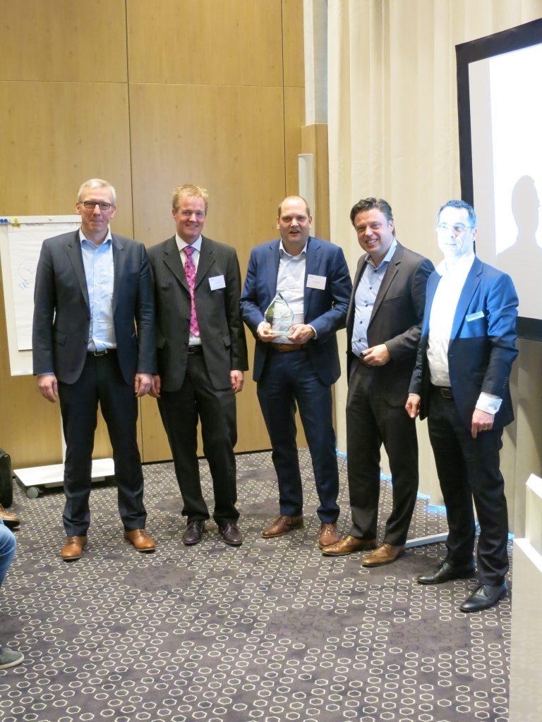 Uitreiking 20 jaar National Instruments Alliance partner award